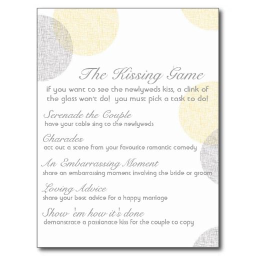 Best 25 wedding kissing games ideas on pinterest fun for Affordable wedding invitations near me
