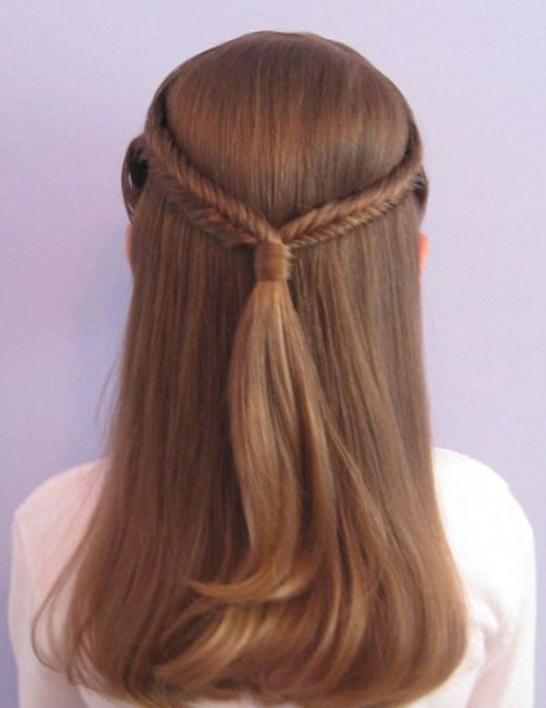 Cool, Fun & Unique Kids Braid Designs -Simple & Best Braiding Hairstyles For Kids 2012-3 I want this style on my hair