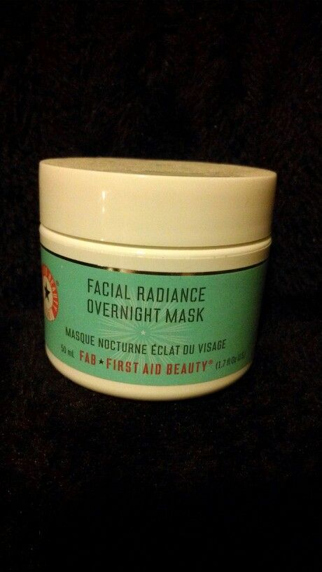 FAB Facial Radiance overnight mask, used once with clean spatula, $25 shipped