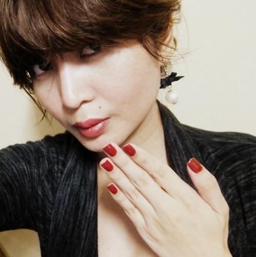 OPI Chick Flick Cherry: Nail-polish of the week