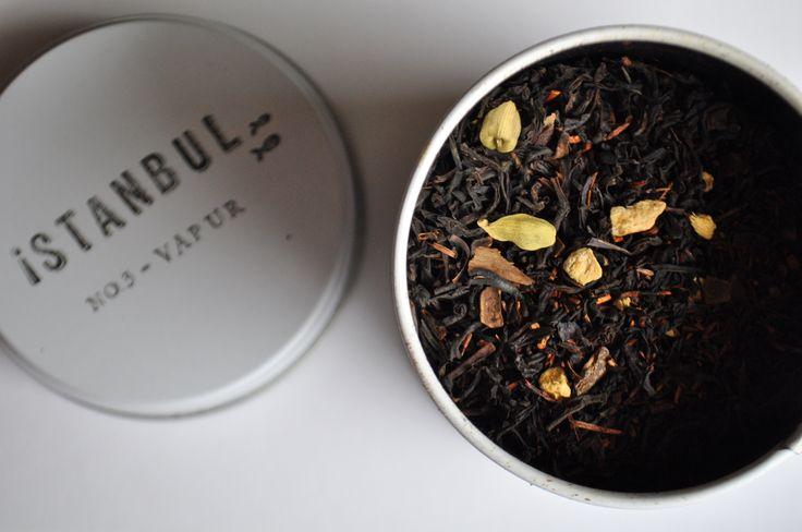Chado Istanbul Serisi - Rooiboslu baharatlı siyah çay #istanbul #chado #tea #rooibos #blacktea #artisantea