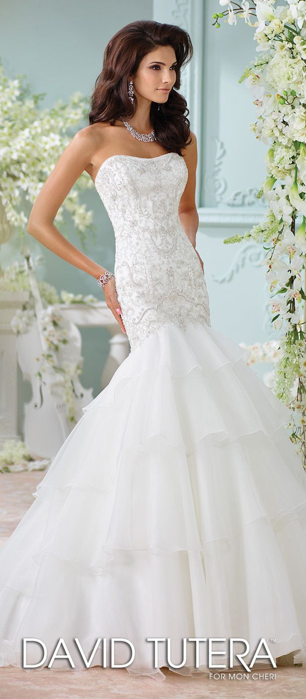 Spectacular  best david tutera wedding dresses images on Pinterest Wedding dressses Wedding gowns and Brides