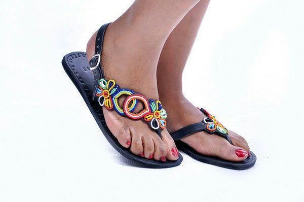 Sandales cuir SIDEFLOWER