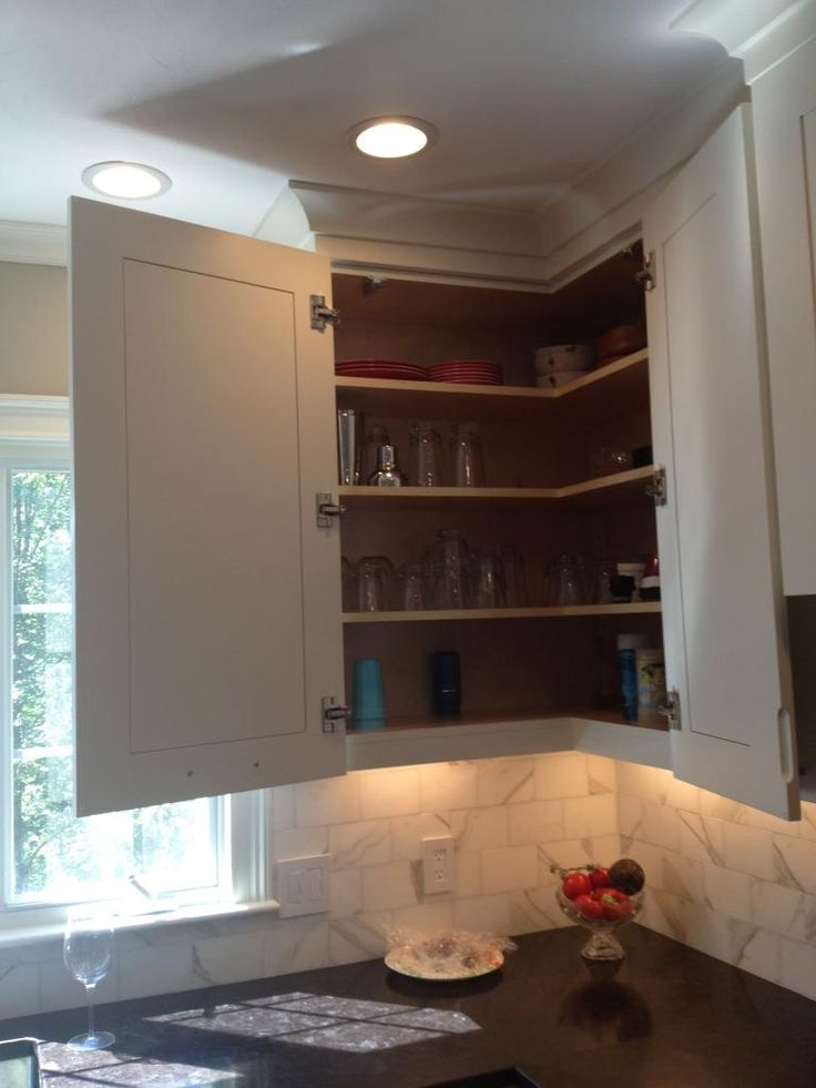 Easyreach Corner Upper Cabinet Kitchens Pinterest The O 39 Jays Lazy Susan And Window