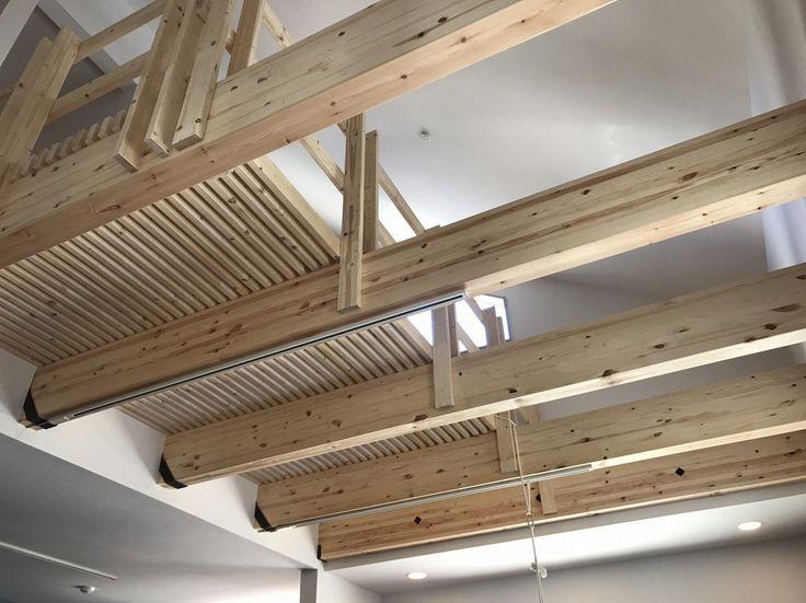 ENJOYWORKS/エンジョイワークス/リノベーション/スケルトンハウス/SKELTONHOUSE/ルーム/room/天井/ceiling/ルーバー/吹き抜け