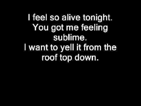 """Lyrics to Seether's """"Tonight"""" from their 2011 album Holding Onto Strings Better Left to Fray."""