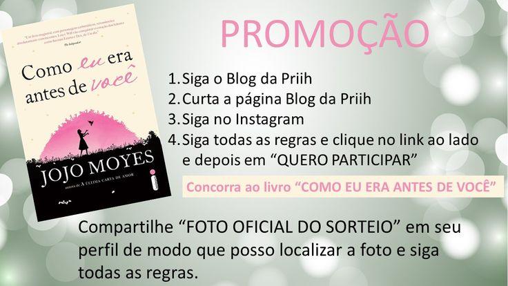 """LINK DO SORTEIO: https://www.sorteiefb.com.br/tab/promocao/373107  (depois é só clicar no botão verde escrito """"QUERO PARTICIPAR""""!)  Ta rolando sorteio! Pra participar é bem fácil, tem que seguir Blog, curtir essa página e seguir no Instagram depois clicar em """"Quero participar"""" para concorrer.   (Link da página Blog da Priih) https://www.facebook.com/blogdapriih?ref=hl  Não esqueça de compartilhar compartilhado essa foto!  O sorteio será no dia 12 de Setembro! BOA SORTEEEE!"""