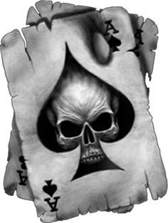 ace of spades with skull photo: ace of spades with skull sticker This photo was uploaded by littleredxox