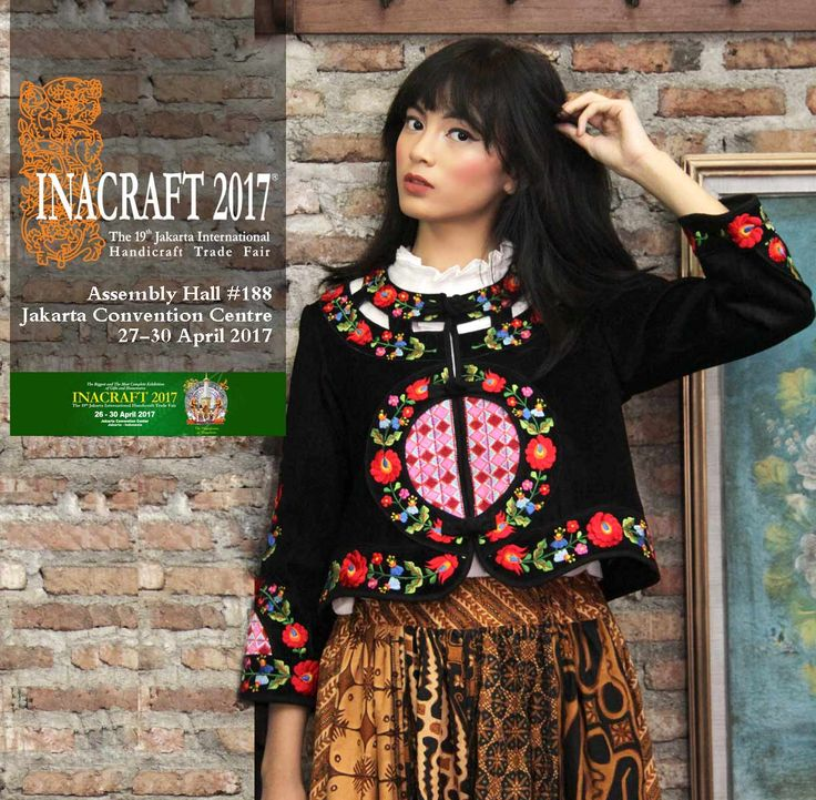 Come & visit Batik Amarillis's Booth at INACRAFT  2017 THE Biggest Indonesia's handicraft Trade fair ... Delightfully love seeing  all of you there :) Batik Amarillis Booth #188 Jakarta Convention Center   27 - 30 April   2017