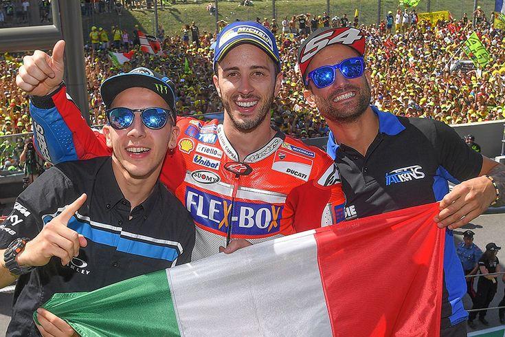 From Vroom Mag... Italian Grand Prix, Mugello - Raceday roundup: MotoGP, Moto2, Moto3