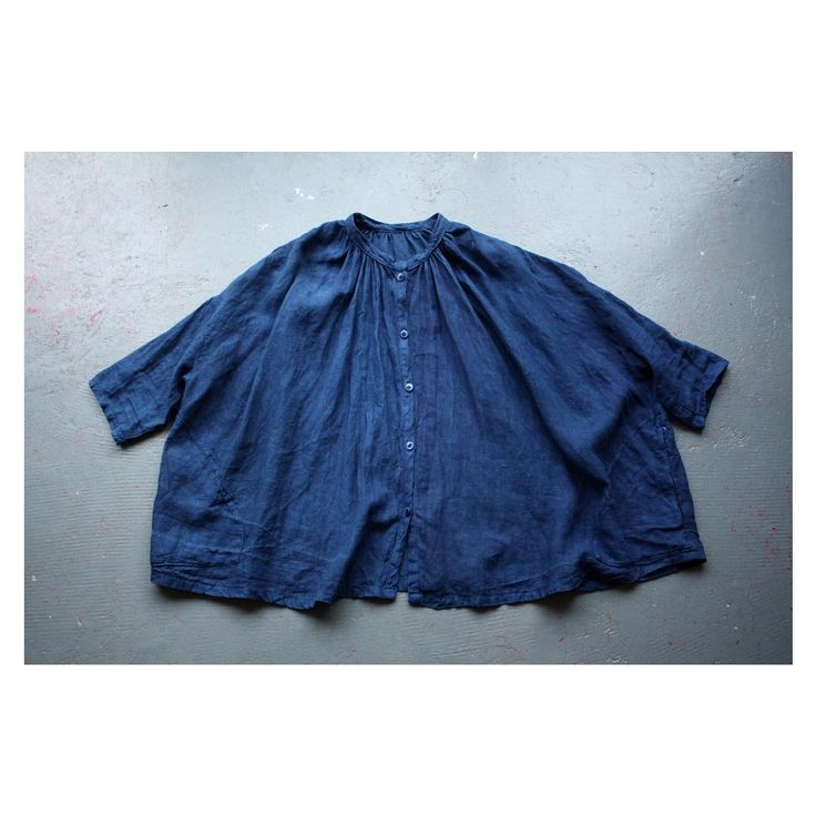 Linen. #handmade #handdyed #indigo #clothing #folklore #falmouth