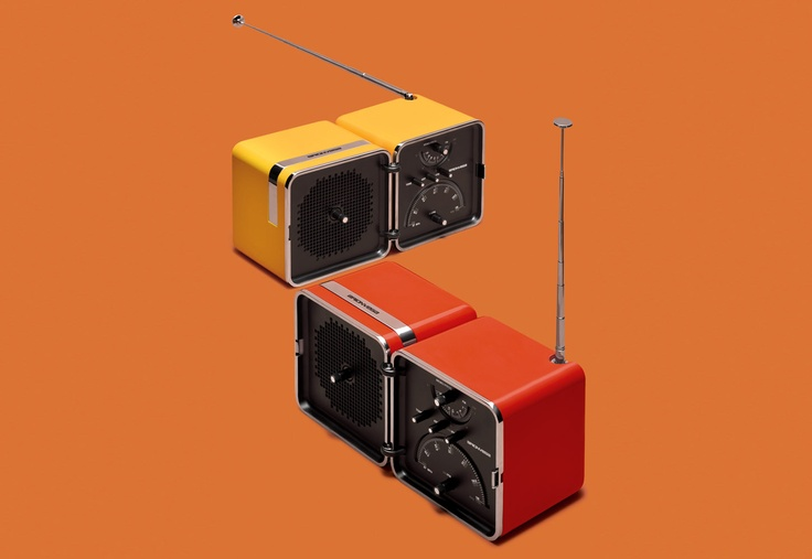 #RadioCubo #Brionvega Collection.  It #sounds #different.