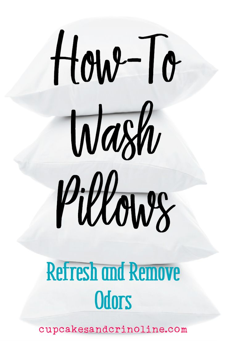 Bed pillows should be washed every 3 to 6 months to remove odor, mold and bacteria. In this post I share How to Wash Pillows the easy way.