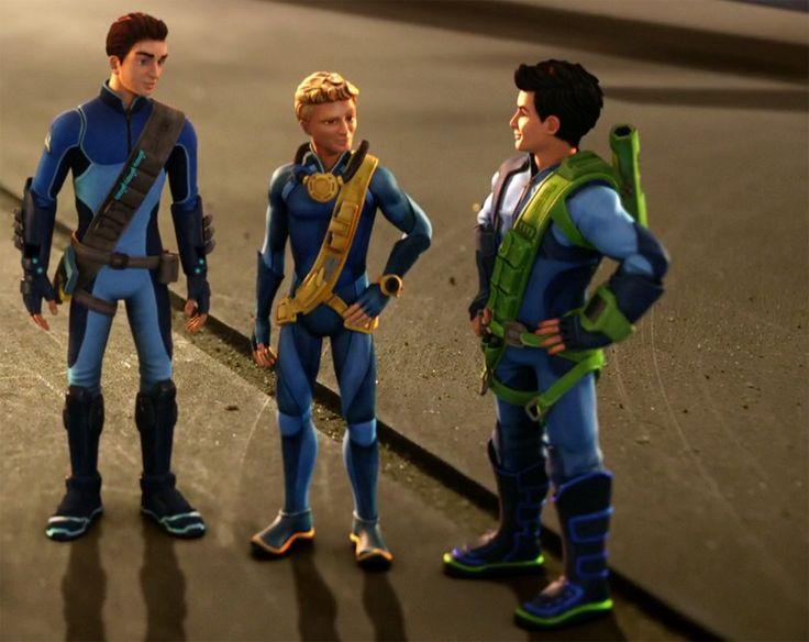 Scott, Gordon and Virgil.