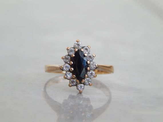 Vintage Sapphire Ring, £105 | 15 Unusual Engagement Rings For Under £150