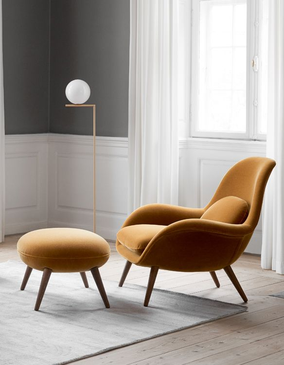 Swoon Lounge Chair Fredericia Lounge Chairs Living Room Swoon Lounge Chair Living Room Lounge