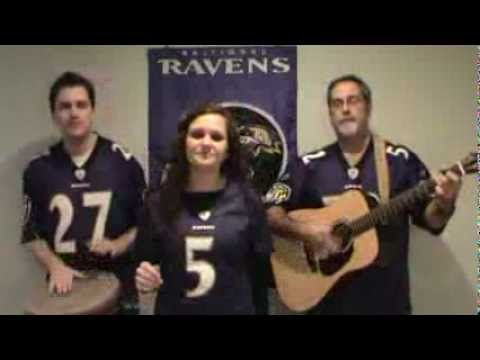 Tonight - A Ravens Battle Song (Some Nights Parody)  I went to school with Sarah, she still has a gorgeous voice!