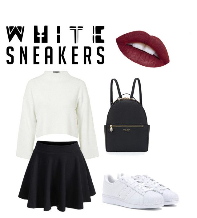 """Untitled #5"" by andini-rachma on Polyvore featuring Topshop, adidas and Henri Bendel"