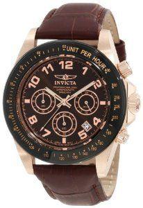 #Invicta 10712 Speedway Brown Leather  women watch #2dayslook #alex2578923  www.2dayslook.com