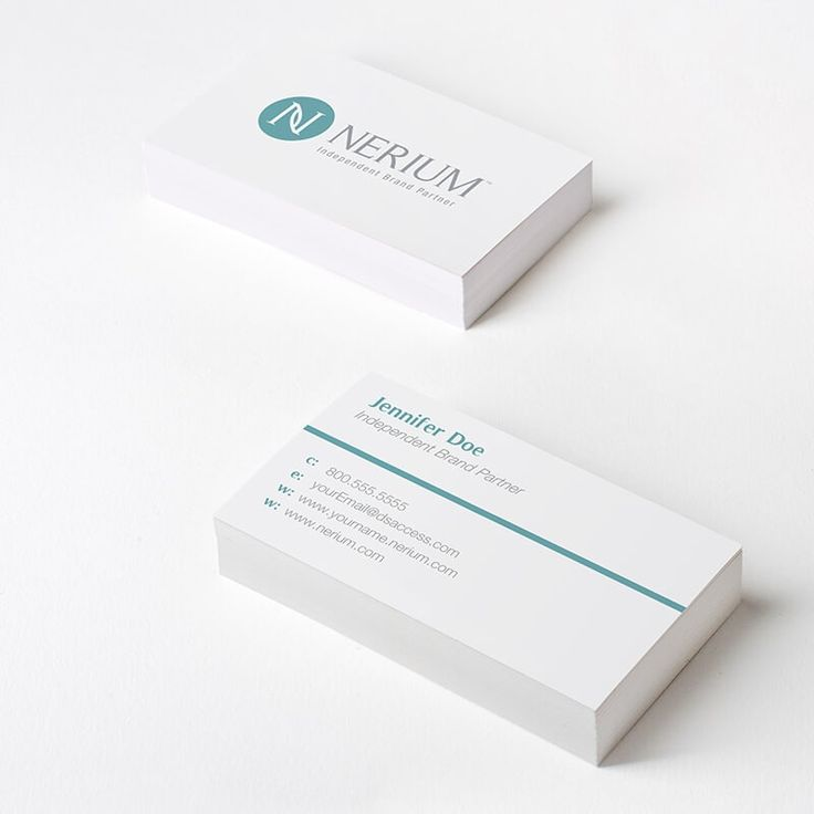 Nerium logo business card dsaccess nerium businesscards neriumbusinesscards