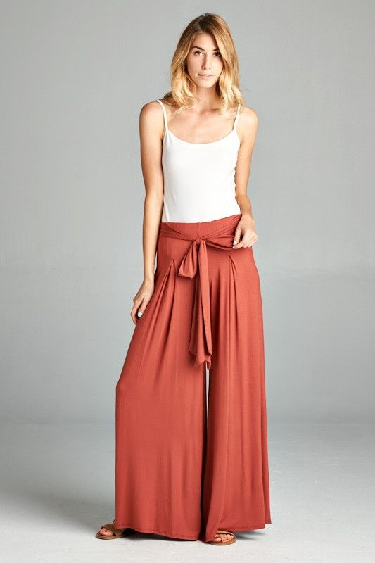 Best 25 High Waisted Palazzo Pants Ideas On Pinterest