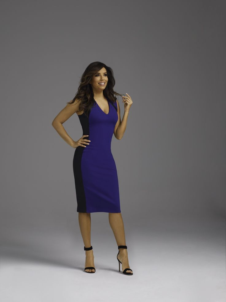 Faux leather is boldly on-trend. This dress exclusively from the Eva Longoria collection has an eye-catching, fitted silhouette that's ideal for a special occasion or an evening out. Power Ponte is an impeccable double knit fabric with amazing stretch. Think flawless fit from conference room to cocktails.