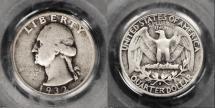 Grading Washington Silver Quarters Made Easy: Fine-12 (F12 or F-12)