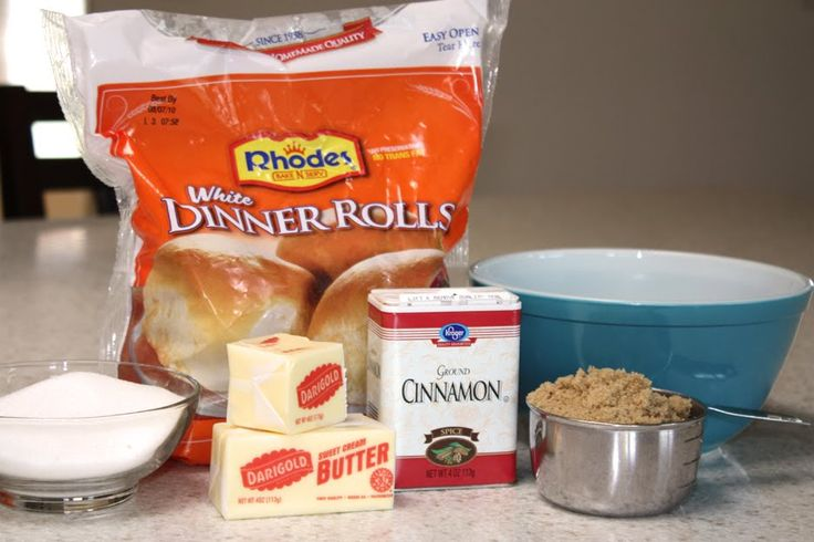Monkey Bread with Rhodes Dinner Rolls | Elle's Studio Blog