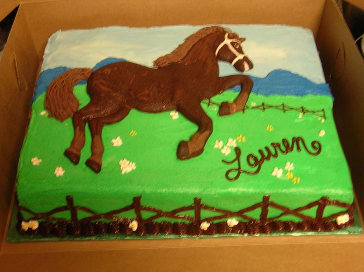 Birthday Cake Ideas With Horses : 1000+ images about Birthday on Pinterest Horse birthday ...