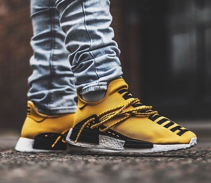 Adidas x Pharrell Williams NMD Human Race HU OG Yellow BB0619