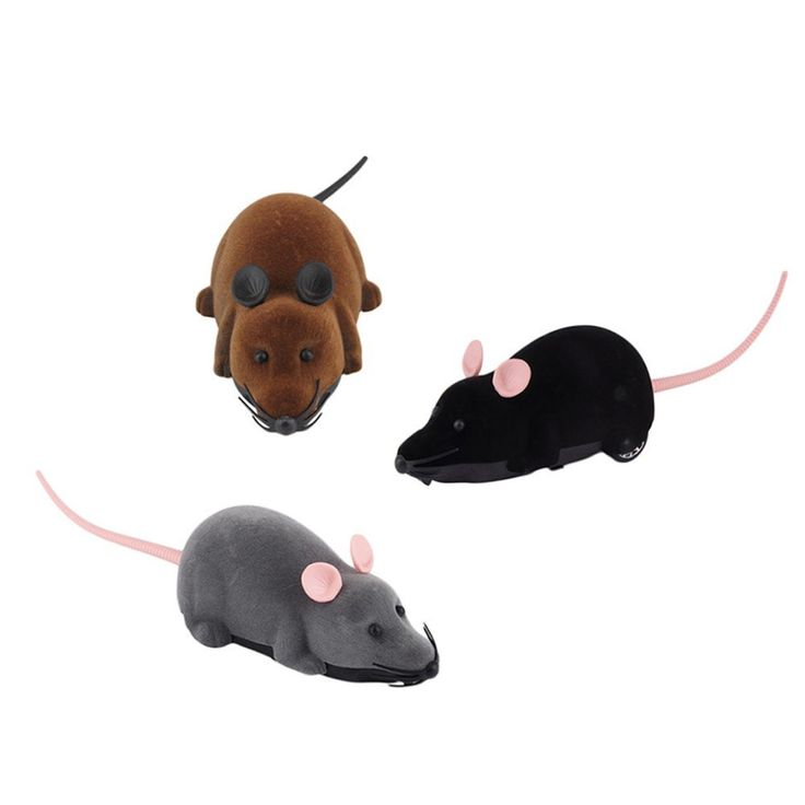 Cat's love chasing mice. It's been that way since time began. MadMouse™ is thefast little remote controlled mouse toy for keeping your cat entertained for hour