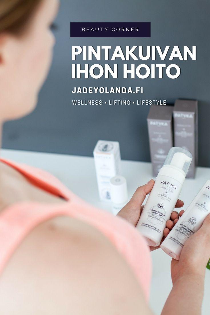 Beauty Corner: Pintakuivan ihon hoito | Beauty Tips | Glowing Skin | Jadeyolanda.fi