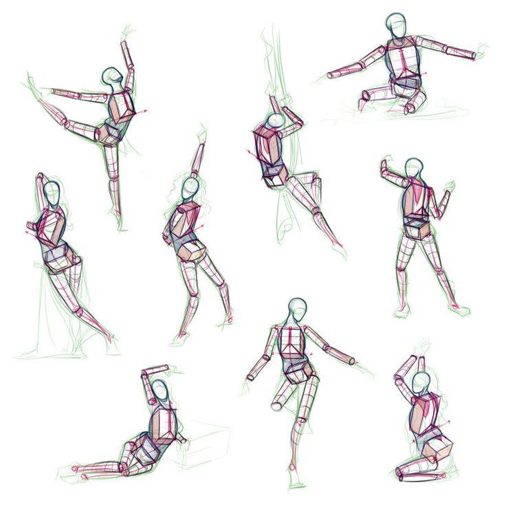 39 Best Anatomy Practice Draw Struggles Images On Pinterest