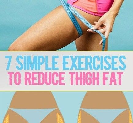 7 Simple Exercises to Reduce Thigh Fat