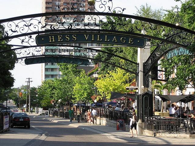 Hess Village, Hamilton, Ontario, Canada