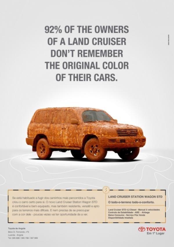 Land Cruiser Ad
