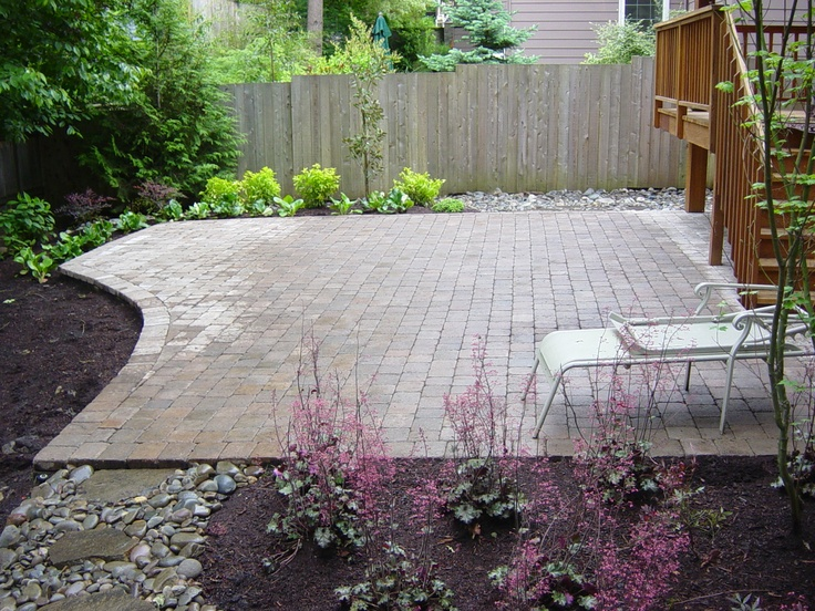 shapeOutdoor Ideas, Style, Shape Gardens, Stones Walkways, Pretty Patios, Lakes, Stones Paths, Landscapes Design, Outdoor Projects