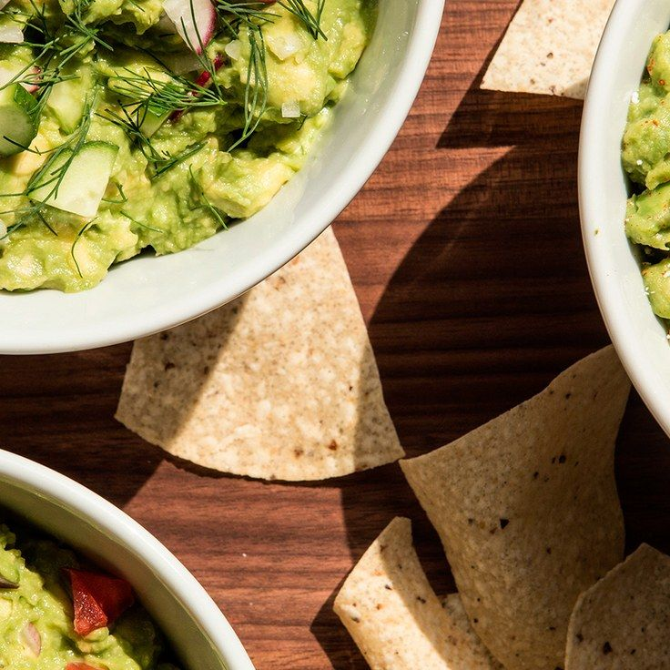 Japanese Guacamole. Middle Eastern Guacamole. And Yes, Mexican Guacamole.