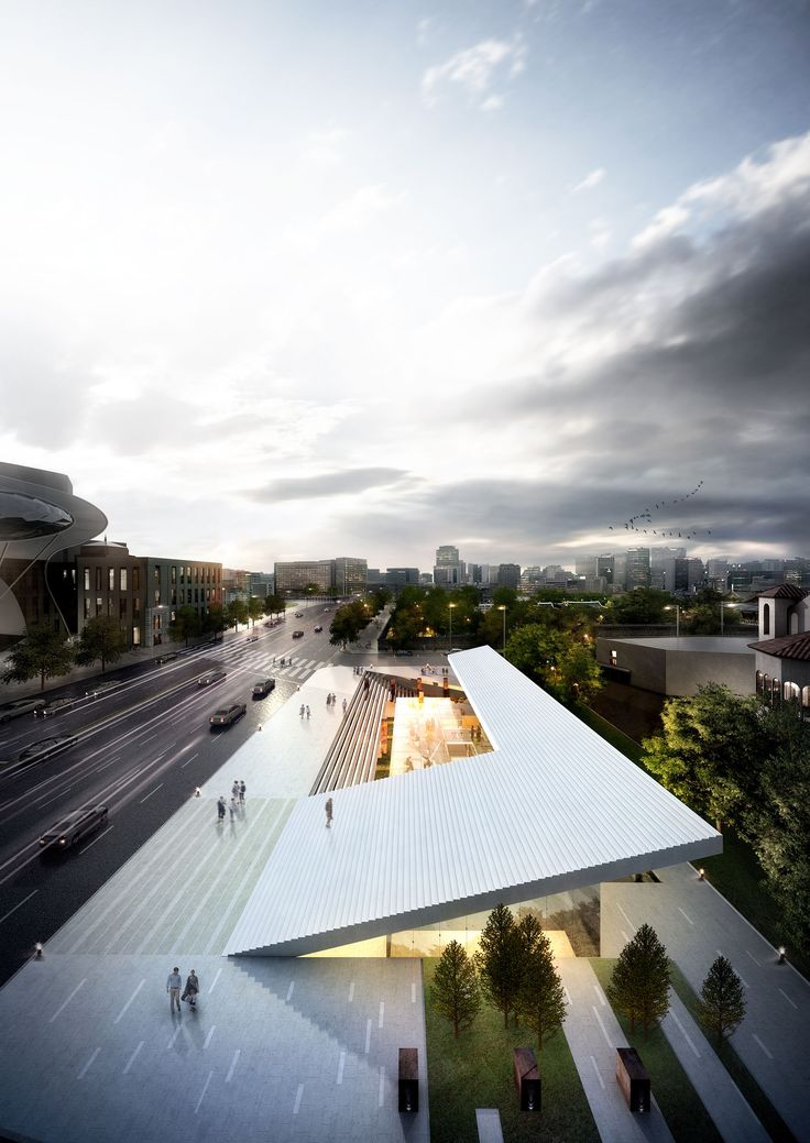 SPACE DESIGN GROUP illo | Sejongdaero Historic Cultural Space Design Competition