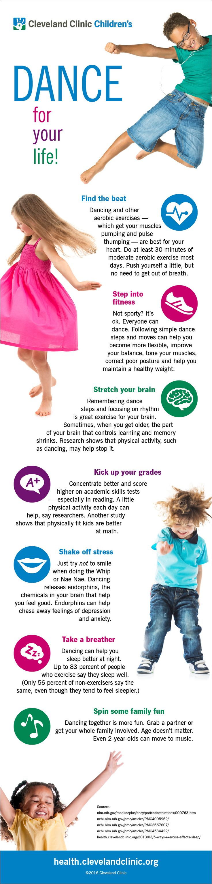 Why Dancing Is So Good for Your Kid (Infographic)