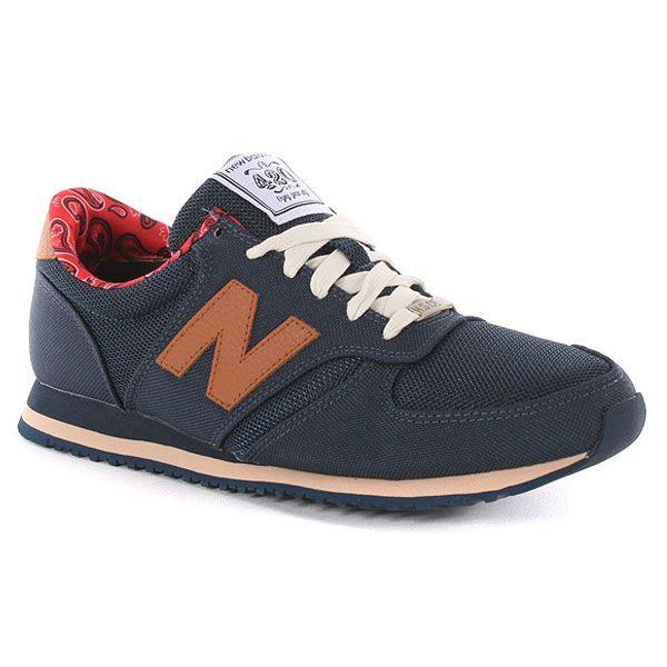 Herschel X New Balance 420 Hsn Shoes - Navy at Urban Industry