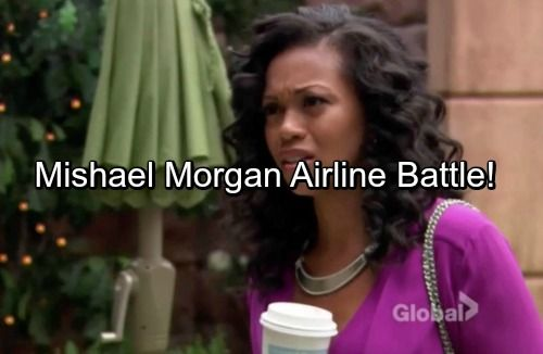 The Young and the Restless Spoilers: Mishael Morgan Goes Public With Horrible Airline Experience | Celeb Dirty Laundry