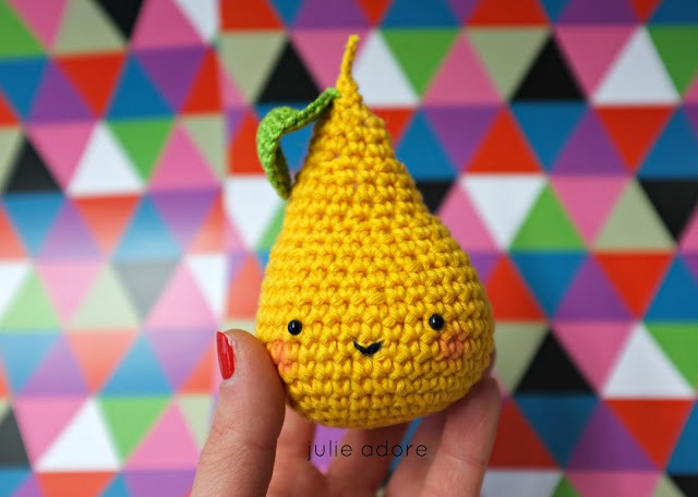 crochet amigurumi fruit