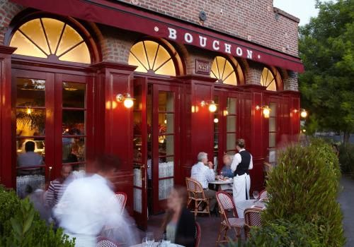 Thomas Keller's Michelin Star-awarded Bouchon Bistro