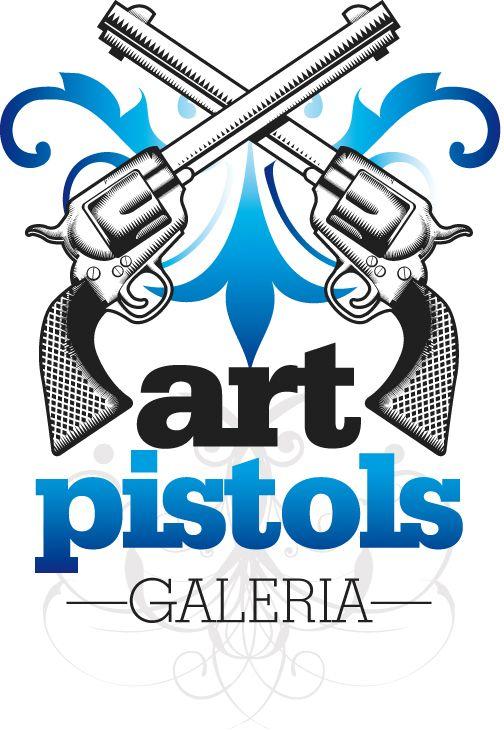 Grafika dla Art Pistols Galeria/ Logotyp