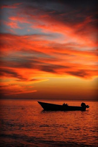 Grenada, where I saw the most beautiful sunset of my life.