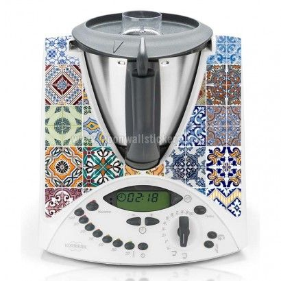 Portuguese Tiles Thermomix Cover
