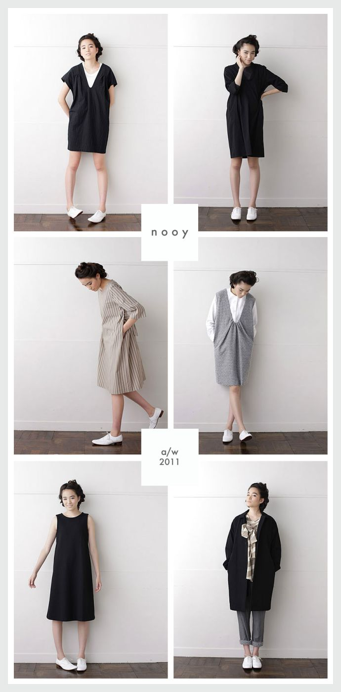 {nooy}     nooy is a Japanese clothing company founded by Natsuko Wakayama and Yos...