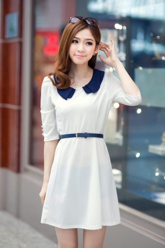 97 Best Images About Korean Dresses On Pinterest Korean Lady Sleeve And Kpop