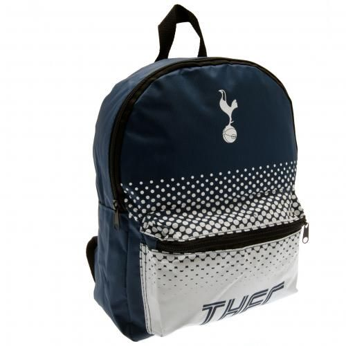 Spacious TottenhamHotspurkid's school bag which is not only functional but fashionable too! Ideal for carrying your books, gym kit etc. FREE DELIVERY on all of our football gifts.